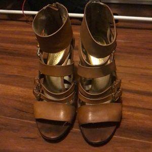 Michael Kors Block Heels size 6 *used*
